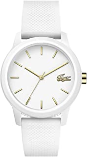 Lacoste Womens Quartz Wrist Watch, Analog and Silicone- 2001063