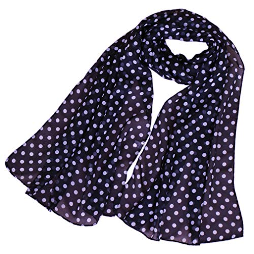 LMVERNA chiffon flower scarf Women