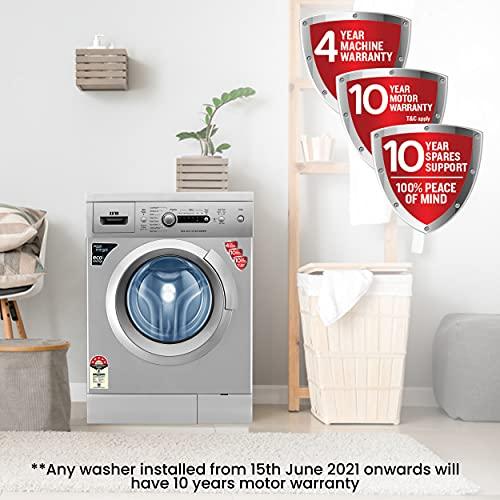IFB 6 kg 5 Star Fully-Automatic Front Loading Washing Machine (Diva Aqua SX, Silver, Inbuilt Heater, Aqua Energie water softener)