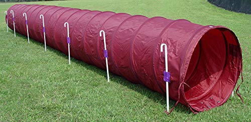Creative Dog Train 18' Dog Agility Tunnel (Purple)