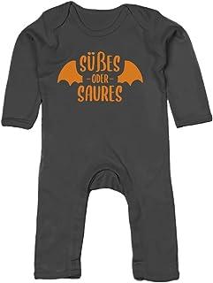 Shirtgeil Halloween - Süßes oder Saures Vampir Baby Strampler Strampelanzug
