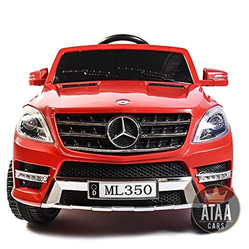 ATAA Mercedes ML350 LICENCEED 12V Voiture électrique Enfants à la Batterie - Rouge