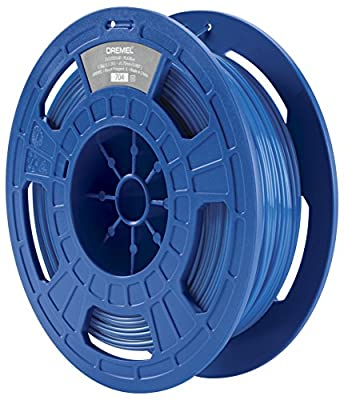 Dremel 3D Drucker (PLA Filament 1,75mm, Zubehör für DigiLab 3D-Drucker (3D20, 3D40, 3D45), mit RFID Material Erkennungs-Chip) blau
