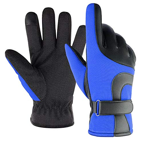 Fasclot Outdoor Waterproof and Antiskid Windproof Gloves for Winter