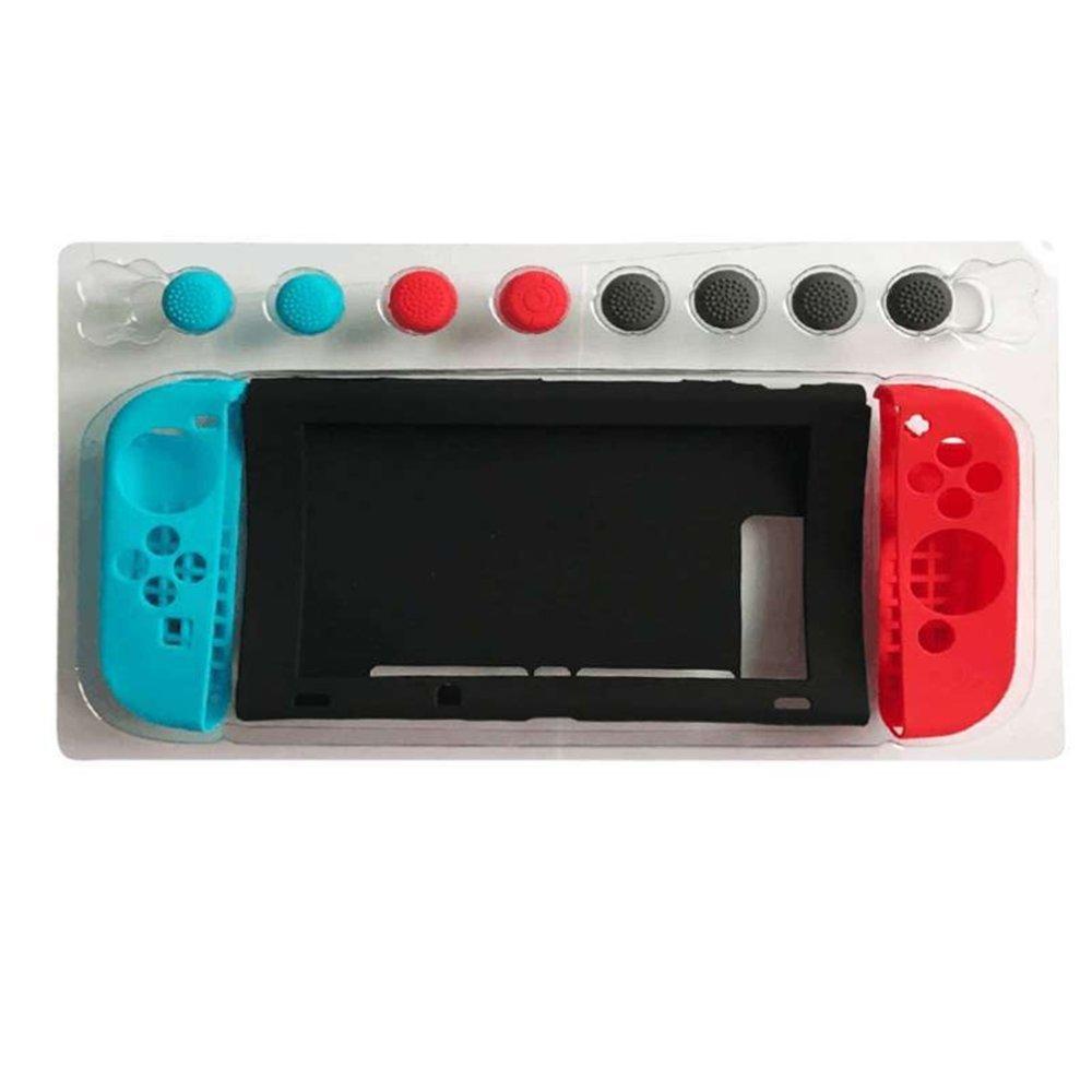 Funda de silicona para Nintendo Switch silicone Case para Consola Nintendo Switch y JonCons: Amazon.es: Videojuegos
