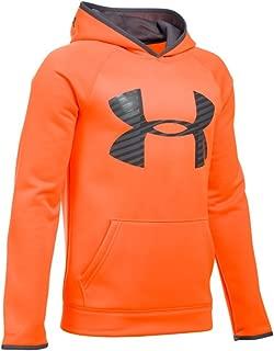 Under Armour Boys Storm Fleece Highlight Big Logo Hoodie
