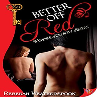Better Off Red audiobook cover art