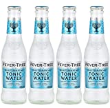 ACQUA TONICA MEDITERRANEAN TONIC WATER FEVER TREE BOTTIGLIA 200 ml X 4 pz DRINK