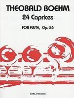 ベーム : 24のカプリス Op.26/カール・フィッシャー社フルート教本