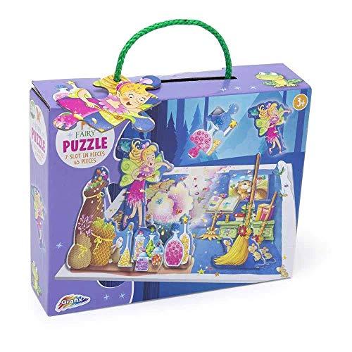Grafix Fairy 3D Jigsaw Puzzle (45 Pieces)