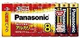 パナソニック パナソニック アルカリ乾電池 単3形 8本パック LR6XJ/8SW