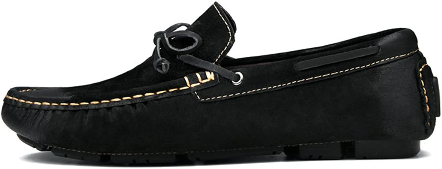 Men's Leather shoes Feet Casual shoes Moccasin