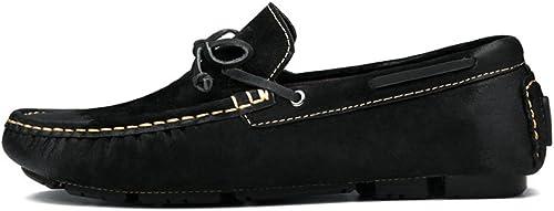 Chaussures Chaussures en Cuir pour Hommes Pieds Chaussures Décontracté Mocassin  livraison éclair