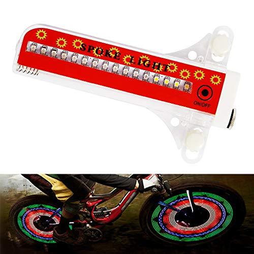 Fahrradräder beleuchten wasserdichte Fahrradfelgenlichter/Speichenlichter mit 32 LED- und 32 PC-Änderungsmustern für MTB-Radreifen