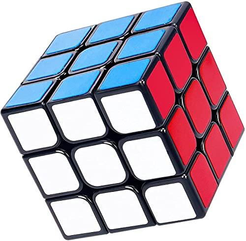 iLink Zauberwürfel 3x3, Original Speed Magic Cube , professionelles schnelles Gehirn-Teaser, Glattes 3D Puzzle Spielzeug für alle Altersgruppen