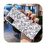 Coque de téléphone pour Huawei Honor 30 20 10 9 8 8x 8c v30 Lite View 7A pro-a3-Honor view20