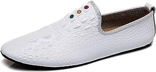 CAIFENG Fashion Britannique Loisirs Business Shoes for Hommes en Cuir Véritable Léger Léger Légers Responsable Locations E...