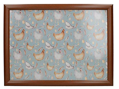 Kitchen Craft Creative Tops Feather Lane Keramik-Becher, 280 ml (10 Flüssigunzen), Holz, One Size