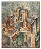 TLMYDD Puzzles de rompecabezas grandes para adultos-Pablo Picasso-The Reservoir, Horta de Ebro-Pintura al óleo Jigsaw Puzzles Artworkles-Wall Study Dormitorio Decoración Marco Regalo de cumpleaños, di