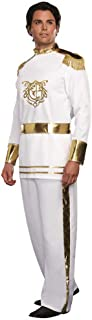 Men's Prince Charming Costume-Adults Halloween Christmas Party Cosplay Prince Suit