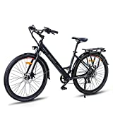Macwheel 26' Electric Bike, 350W Electric Commuter Bicycle with 36V/10Ah...