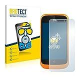 BROTECT 2X Entspiegelungs-Schutzfolie kompatibel mit ZTE Open L Bildschirmschutz-Folie Matt, Anti-Reflex, Anti-Fingerprint