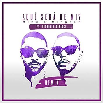 Que Será De Mi (feat. Nicholle Denisse)