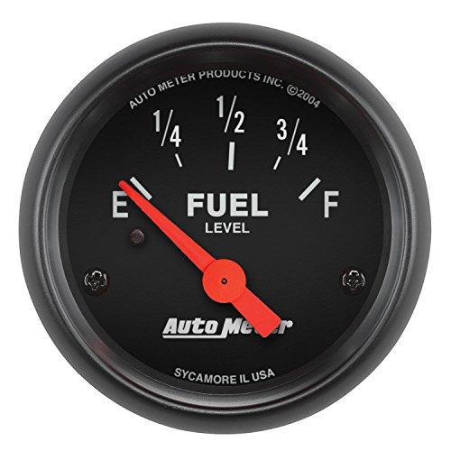 AUTO METER 2641 Z-Series Electric Fuel Level Gauge , 2 1/16' - Short Sweep/Electric
