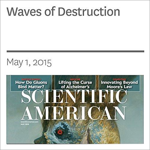 Waves of Destruction audiobook cover art