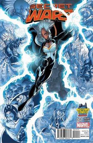 Secret Wars : X-Men 4 2/2