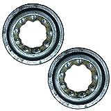 (2) Kubota Steering Shaft Bearings for B1550 B1750 B4200 B5100 B5200 B6100 B6200 B7100 B7200