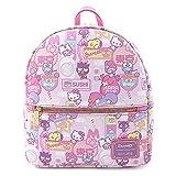 Loungefly Sanrio Hello Kitty Kawaii Convertible Double Strap Shoulder Bag Handbag Purse