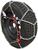 TireChain.com P235/65R15, P235/70R15, P275/50R15, 215/75R16, P225/70R16, 235/65R16, P255/50R16, 225/55R18, 225/60R18, 235/55R18, 245/45ZR19 Diamond Tire Chains Set of 2