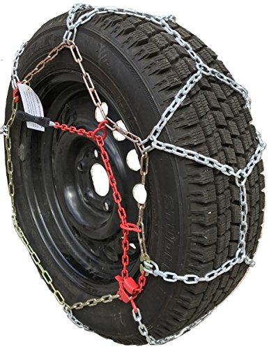 TireChain.com P215/65R16 P215/65 16 ONORM Diamond Tire Chains Set of 2