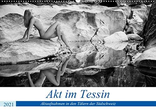 Akt im Tessin (Wandkalender 2021 DIN A2 quer)