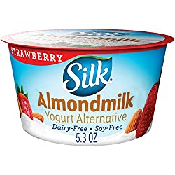 Silk Almondmilk Yogurt Alternative, Strawberry, Vegan, 5.3 Oz