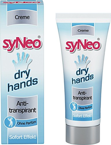 syNeo Dry Hands Antiperspirant Deodorant Cream, 1 Pack (1 x 40ml)