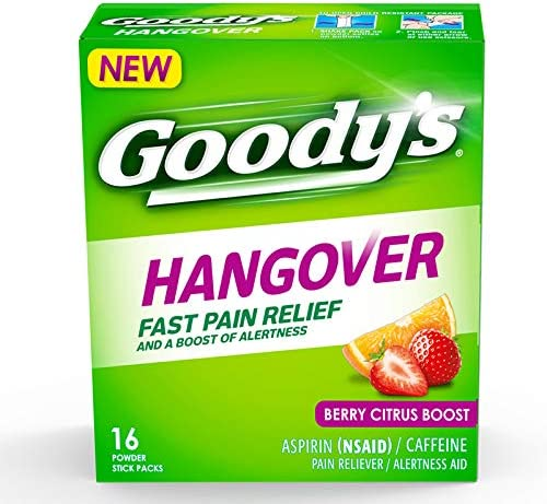 Goody s Hangover Powders for Fast Pain Relief 16 Count product image