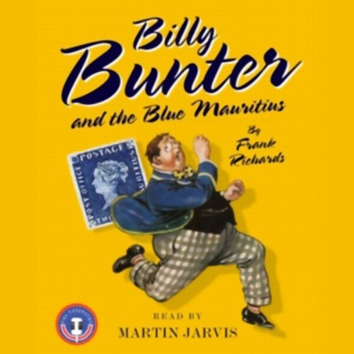 Billy Bunter and the Blue Mauritius audiobook cover art