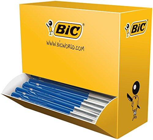 BIC Duitsland balpen M10, 0,4 mm, Value Pack 100 stuks blauw