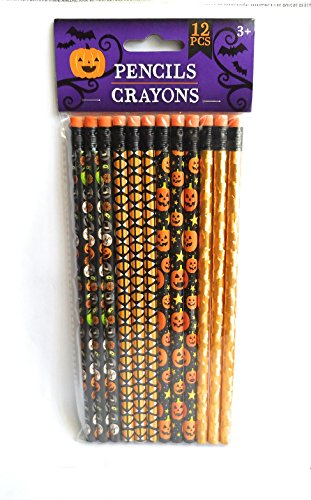 Halloween Pencils 12 CT (colors may vary)