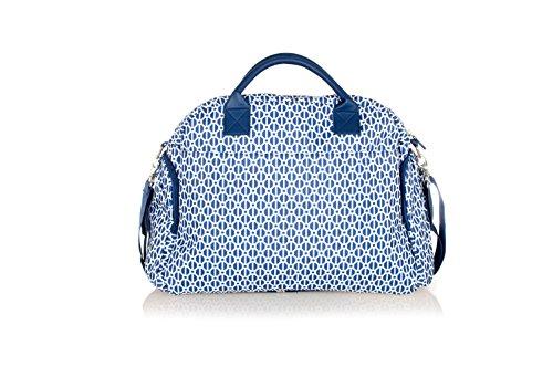 Wickeltasche Baninni Torino in drei Farben, Design:Blue