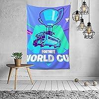 Fortnite World Cup Banner ファッションインテリアデコレーション多機能ベッドルームパーソナリティギフト内壁ハンギングルームカーテンギフトウォールアートファッション新館ウェディングギフトかわいい風景10925