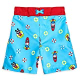 Disney Mickey Mouse and Donald Duck Swim Trunks for Boys Size 2...