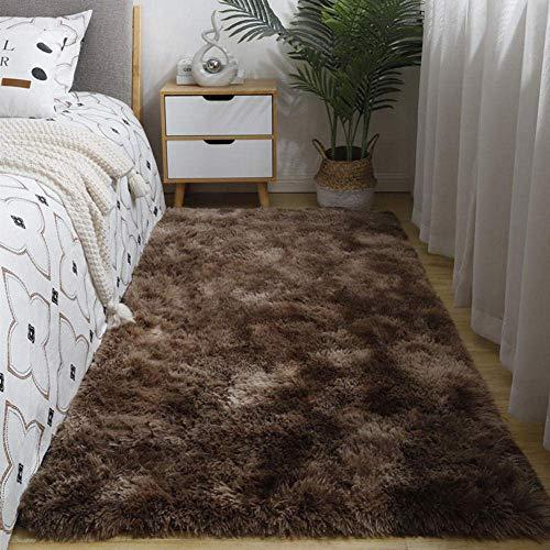 HaoLi Alfombra Grande Antideslizante pequeña, Alfombra Moderna y Simple, Alfombra Suave y cómoda de 3_160 cm * 230 cm, alfombras de área mullida para Interiores Lavables Que no se desprenden