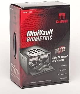 GunVault Minivault Biometric Biometric Pistol Safe GVB1000