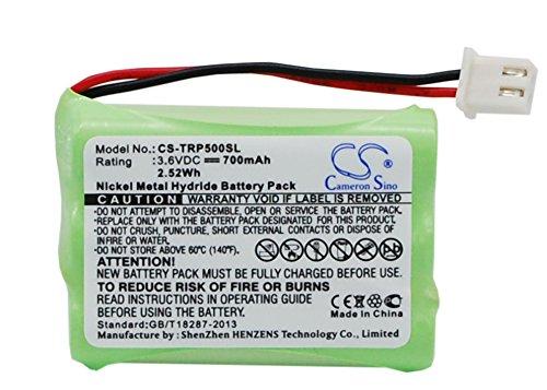 XSP 700mAh Replacement Battery for TRI-TRONICS G2 Pro Pro 500XL Pro 500XLS Part NO TRI-TRONICS 1038100-D 1038100-E 1038100-G 1107000 Parts Battery Batteries