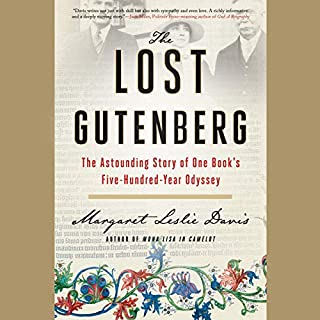 The Lost Gutenberg cover art