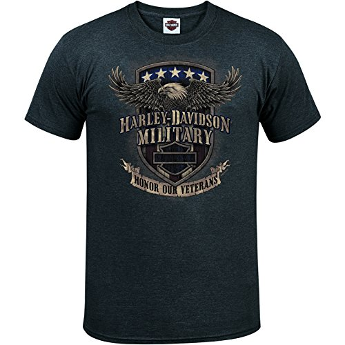 HARLEY-DAVIDSON Military Men's Graphic T-Shirt - Overseas Tour | Veterans Support
