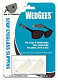 Wedgees Eyeglass Retainers and Eyewear Holders Dual fit Clear (2 packs)